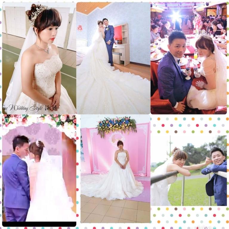 比堤婚紗 推薦新人:Mr. Lo&Mrs. Weng 婚禮紀錄