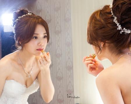 不凋乾燥花!浪漫氣質的新娘造型