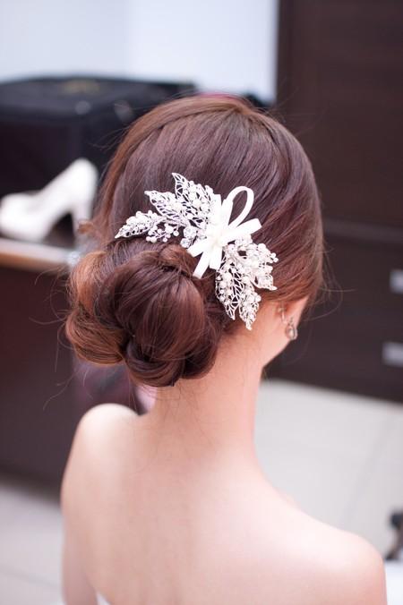 Bride~Sharon 可愛甜甜的女孩與鮮花花飾