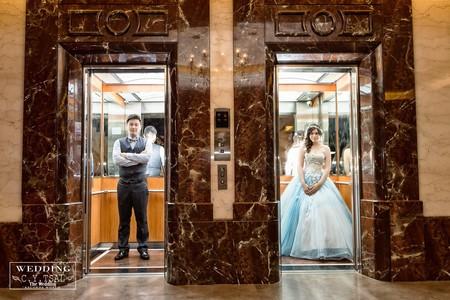 婚禮紀錄WEDDING | 台南-富霖餐廳永華館 | 幸運草攝影工坊
