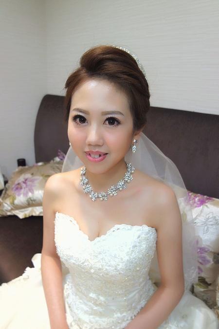白紗造型 婚宴現場