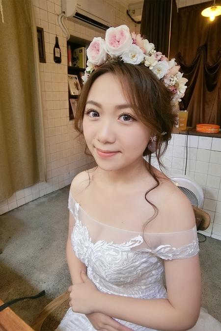 饅頭爸團隊-新祕喵喵vivian❤ 婚紗造型