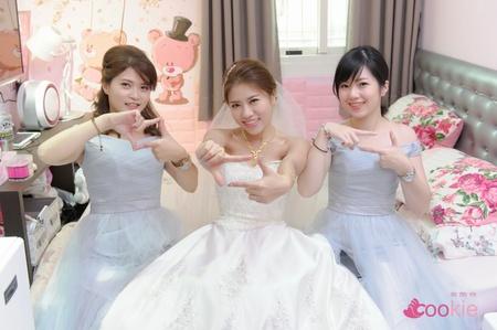 錦霖 & 裴雅 婚禮記錄 @ 中和華漾飯店
