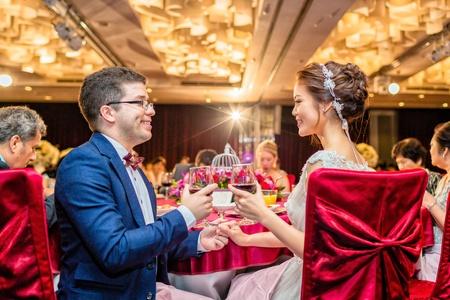 婚攝 子顯&佩璇 婚禮紀錄@維多麗亞酒店