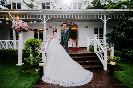 戶外證婚+晚宴 -- 青青食尚花園