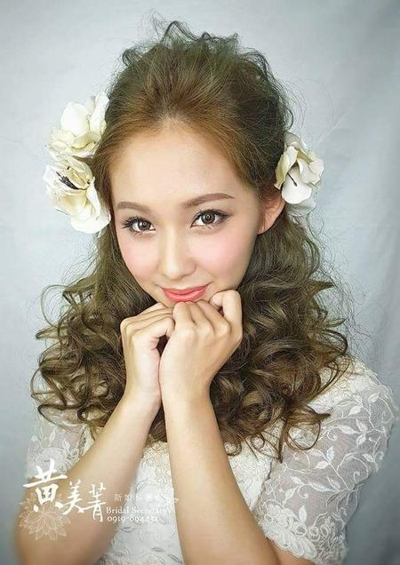 黃美菁 歷年婚宴新娘造型集