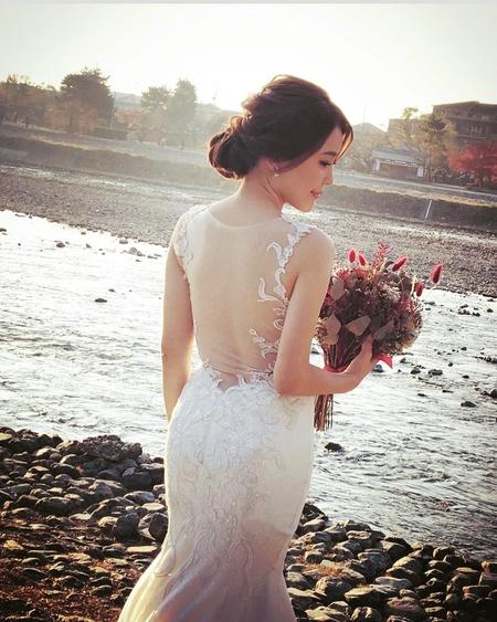 Kylie Tsai bride-怡華