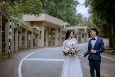 J2 wedding婚紗