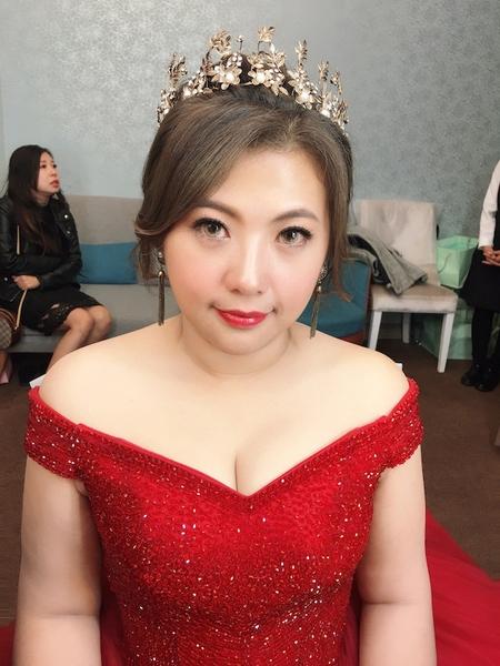 饅頭爸新秘團隊–芯媛❤小艾結婚晚宴