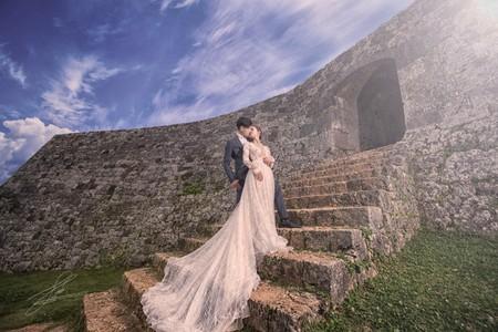 沖繩婚紗 自助婚紗