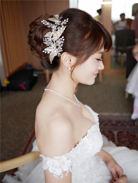 饅頭爸新秘團隊-珊婷 ❤ 雅琪結婚