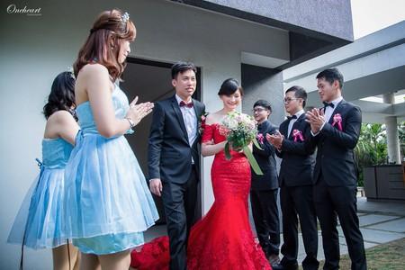 【迎娶婚宴。福灣莊園(Fuwan Villa)】 婚攝小光作品