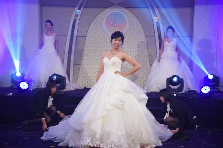 【玩婚FUN程式】Top Model 婚紗走秀特展