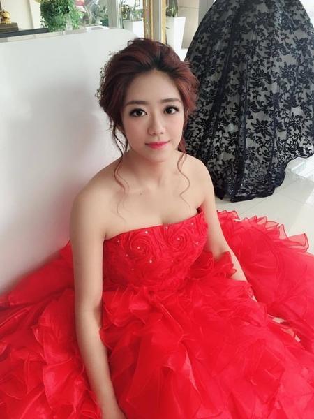 髮量超多的韓系新娘