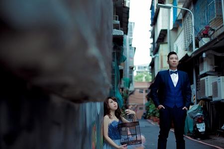建輝❤️育如-JUDY茱蒂文創婚禮--韓風內景-風格婚紗-陽明山-外拍景點推薦