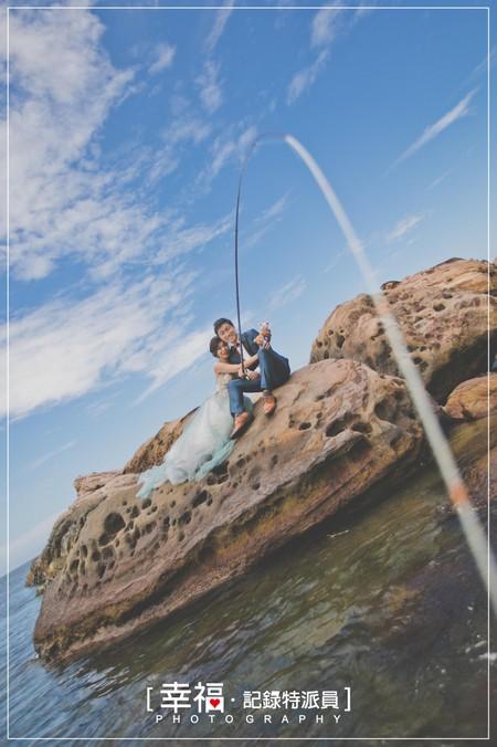 『婚紗攝影』南雅奇岩釣魚趣