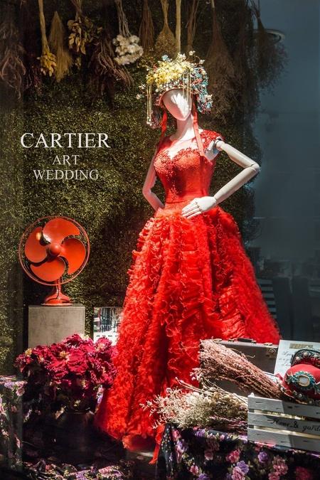 卡蒂亞藝術婚紗 特色禮服