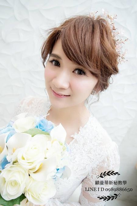 氣質韓風妝髮