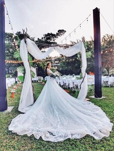 『分享』我的戶外婚禮 婚禮本命款婚紗 第九...